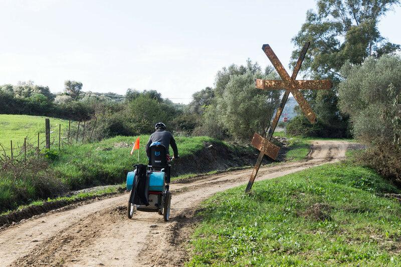 веломаршрут TransAndalus у Jimena de la Frontera