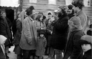 1929. Троицкий округ. Жители станицы Магнитной