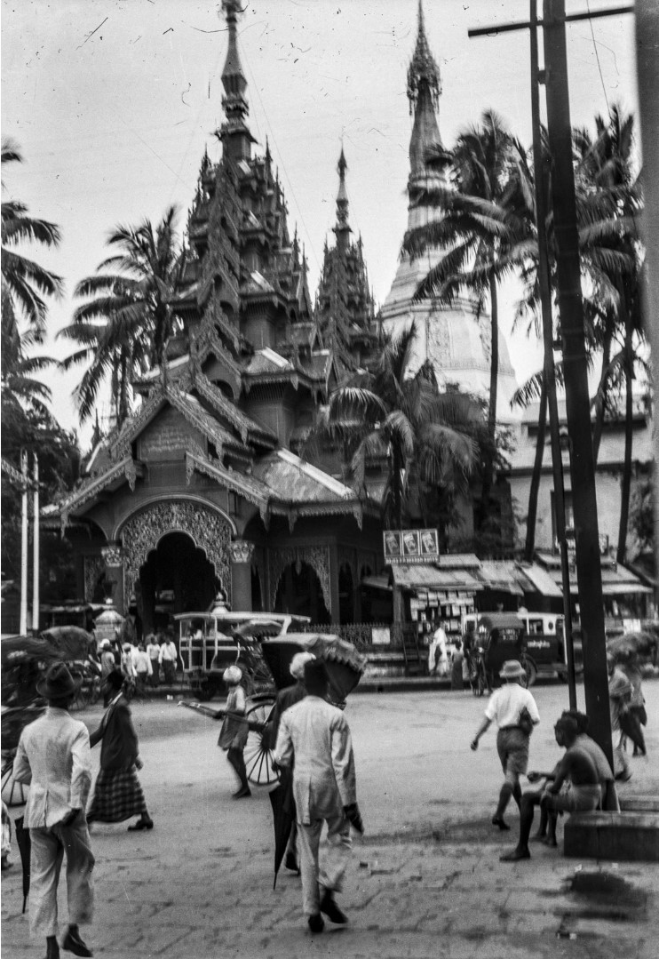 827. Рангун. Пагода Суле