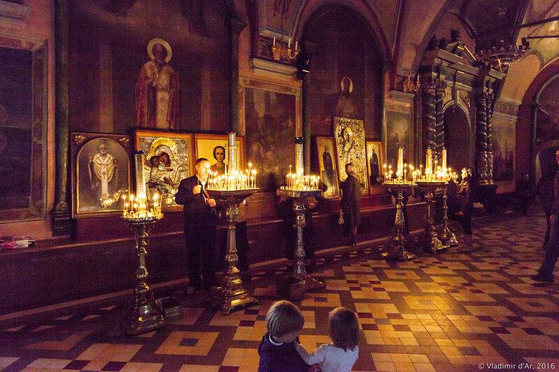 Церковь преподобного Сергия (Трапезная). Свято-Троицкая Сергиева Лавра.