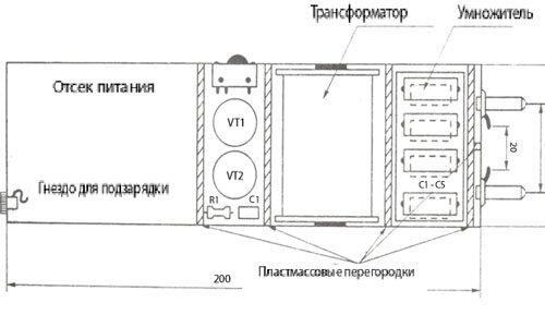 ИЗГОТОВЛЕНИЕ КОРПУСА ЭЛЕКТРОШОКЕРА. электрошокер своими руками Пирофо.  Схема шокера НЛО Электрошокер.