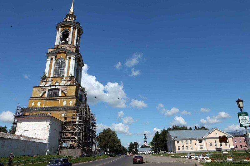 Суздаль - Ризоположенский монастырь, колокольня