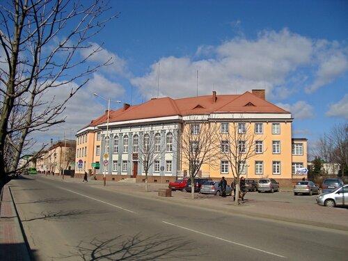 Здание Национального Банка РБ