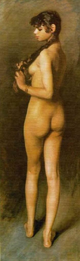 Сарджент, Египетская девочка, 1891,  Egyptian Girl