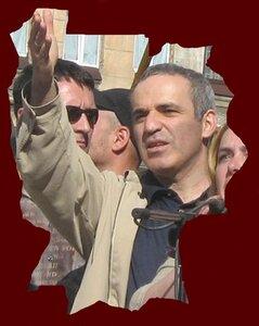 Гарри Каспаров на Марше Несогласных 9 июня 2007 года