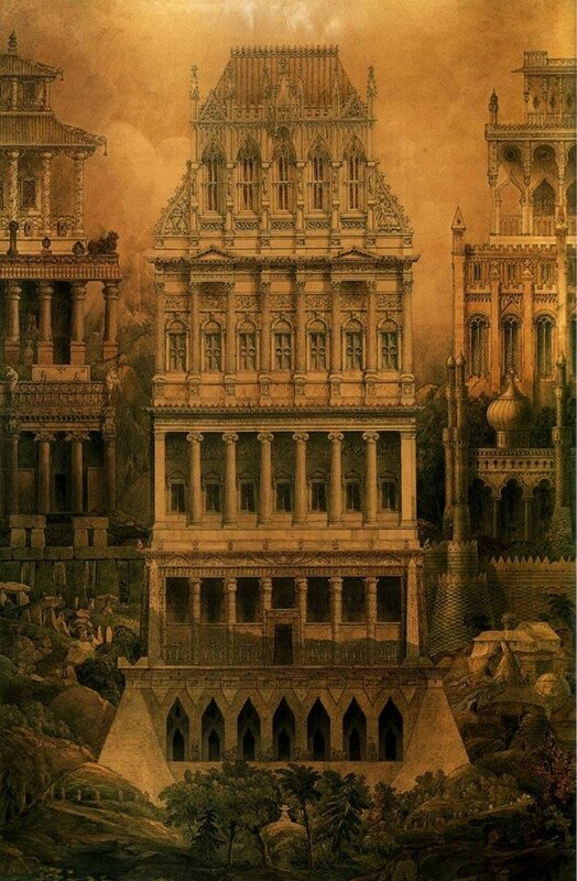 Joseph Gandy - Comparative Characteristics of 13 Selected Styles of Architecture (1836).jpg