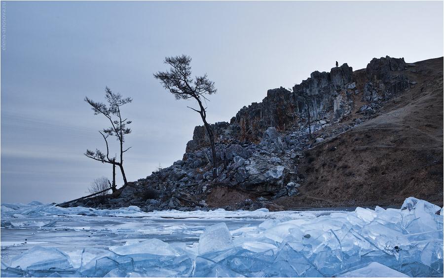 Байкал. Ольхон. Бурхан и лед