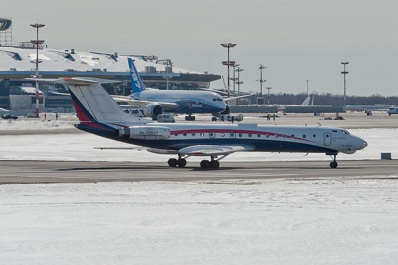 Туполев Ту-134А-3 (RA-65557) Космос DSC_8699
