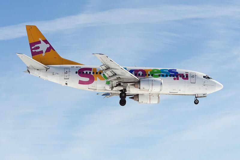 Boeing 737-5L9 (VP-BFK) Sky Express DSC_8845