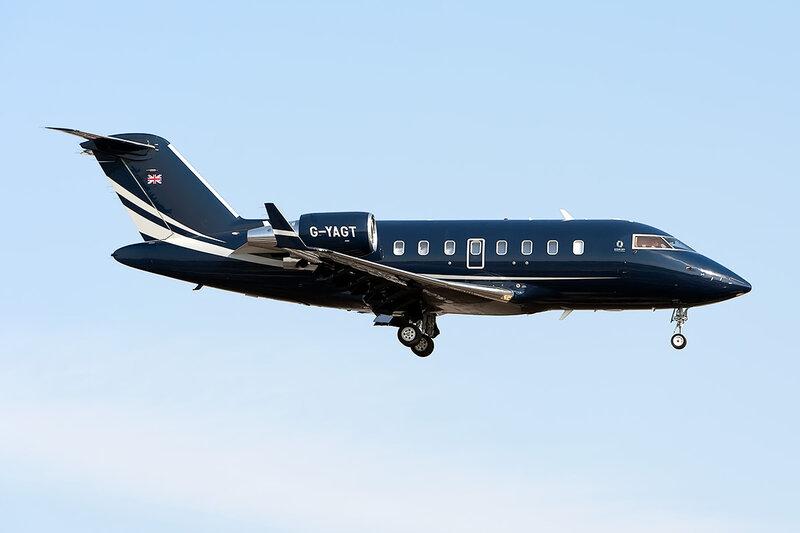 Bombardier CL-600-2B16 Challenger 605 (G-YAGT) Ocean Sky DSC_9580