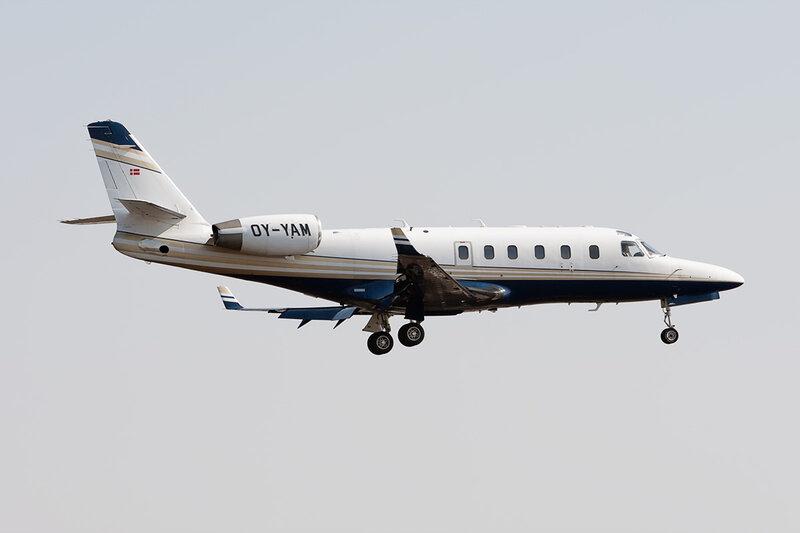 Israel IAI-1125A Astra SPX (OY-YAM) DSC_9468