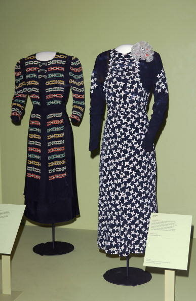 QUEEN MAUD CLOTHES AT V&A EXHIBITION