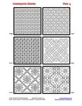 Ensamplario Atlantio: Being a Collection of Filling Patterns Suitable for Blackwork Embroidery