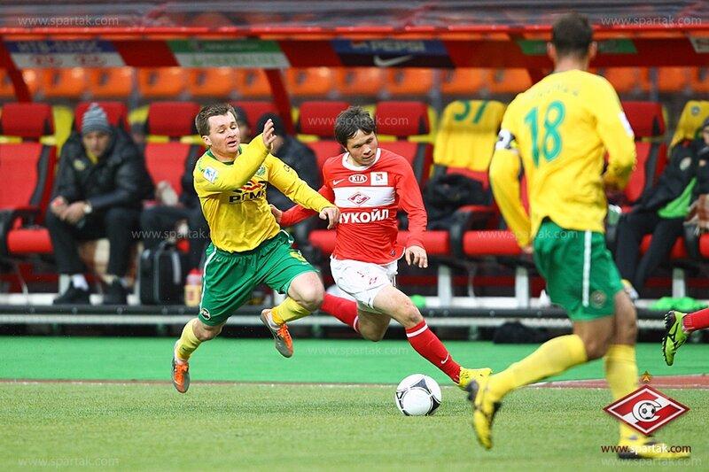 «Спартак» vs «Кубань» 2:0 Премьер-лига 2011-2012 (Фото)