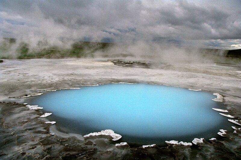 озеро Миватн, Акурейри, Исландия