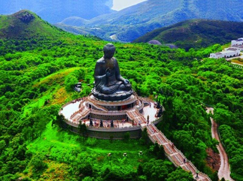 Будда на острове Лантау, Гонконг