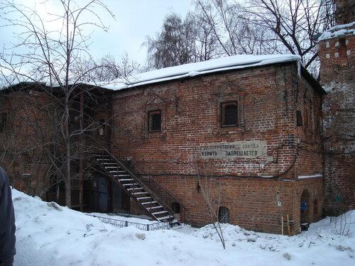 Старая трапезная Симонова монастыря (XV-XVIII вв.)