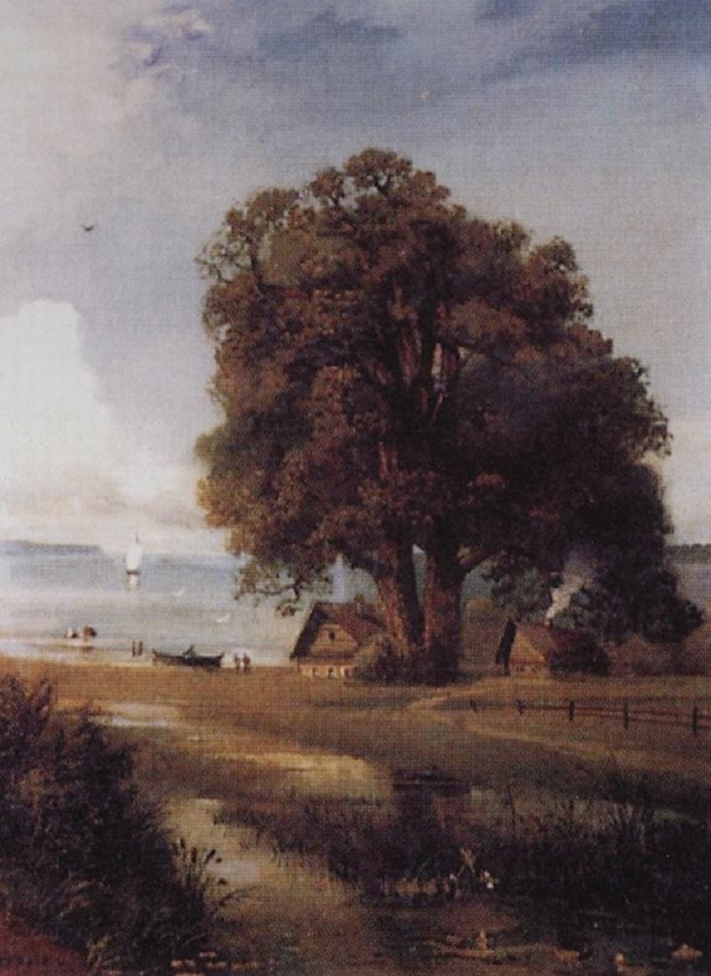 Пейзаж с хутором у озера, 1880-1890-е.jpg
