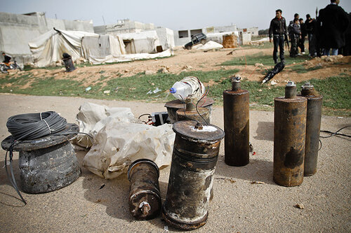Improvised Explosive Devices of Syrian rebels