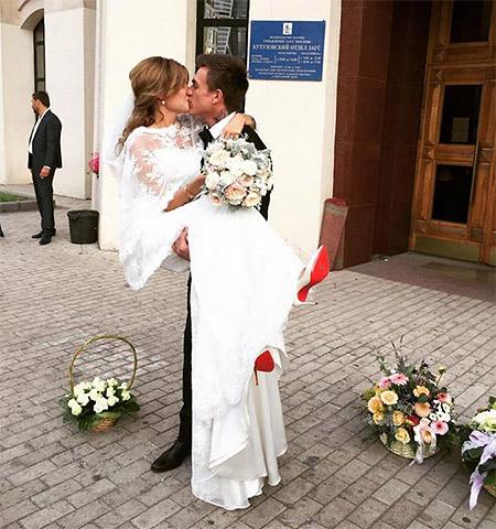 Влад Топалов женился наКсении Данилиной