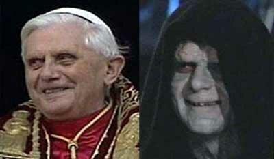 Папа Римский - Император Палпатин?