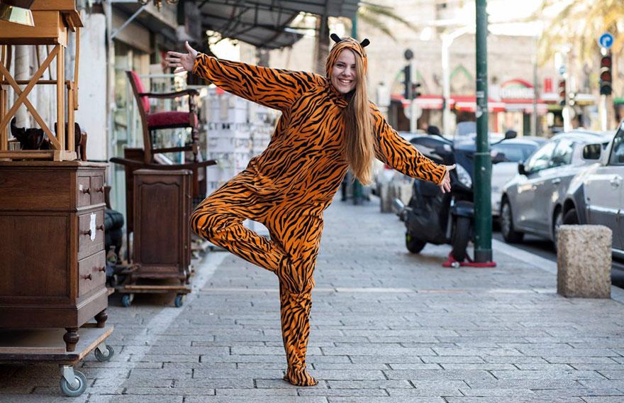 «Мне нравится учиться в школе в Вифлееме, меня все знают как блондинку». Тигр Хелен Ворн.