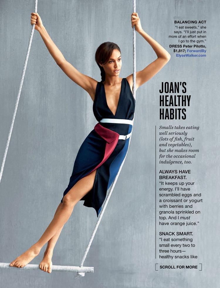 Джоан Смоллс (Joan Smalls) в журнале Self