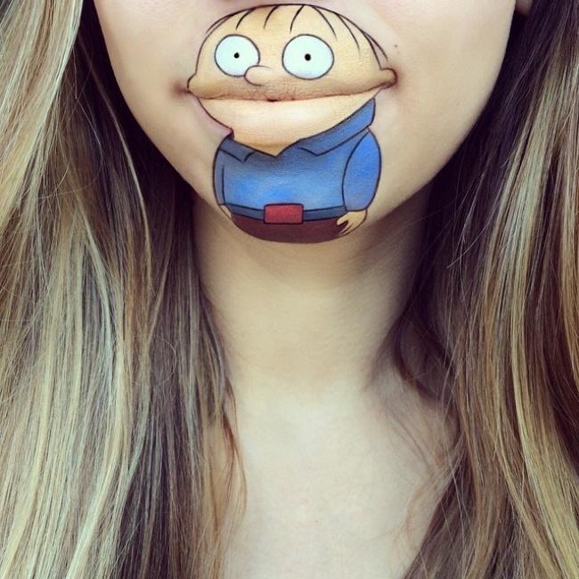 Ральф Виггам из«Симпсонов».