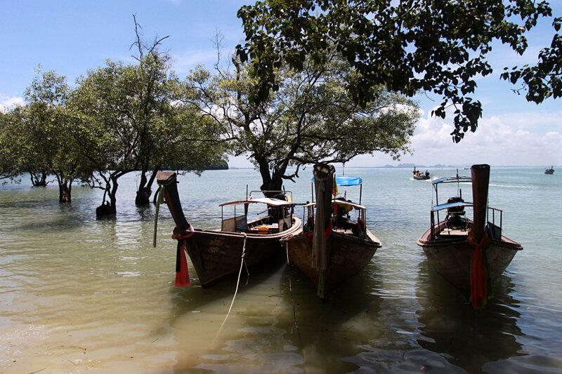 Цена билета на лодку до островов Краби