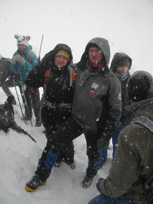 Тренировочный выезд 23 февраля на Бештау и тренировки в Лесу