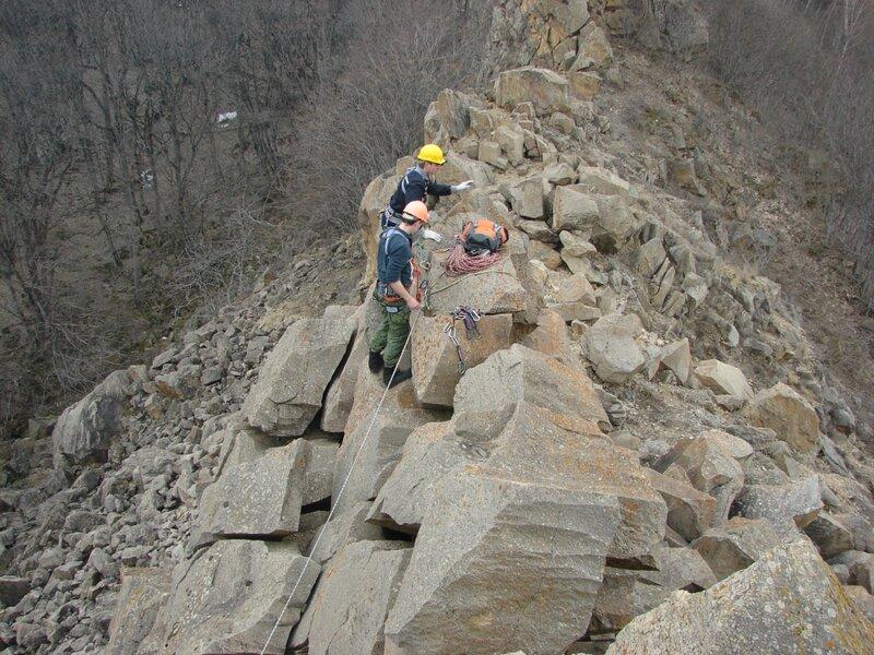 Тренировочный выезд на Острую 7-8 Апреля 2012