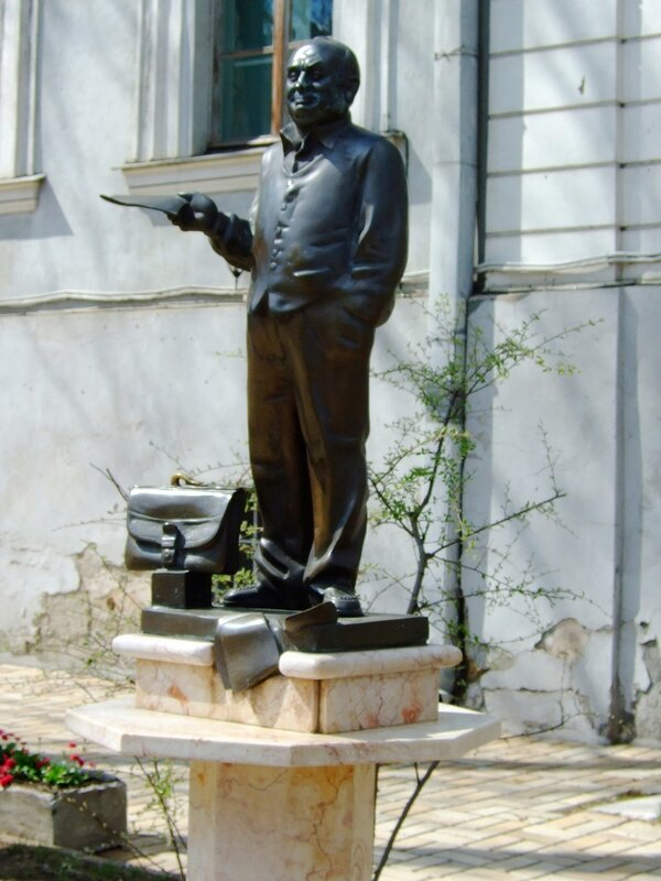 Дворик литературного музея