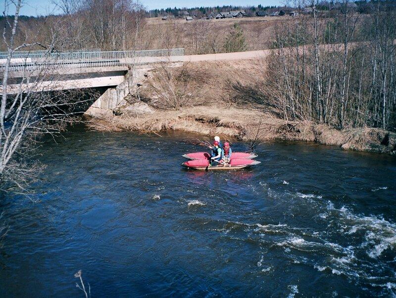 Сплав по реке Серёжа, Тверская область