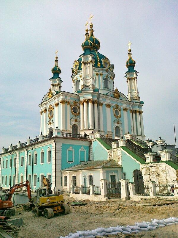 киев андреевская церковь