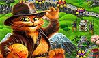 Кот в Сапогах Драгоценные Камни (Match3 Puss in Boots)