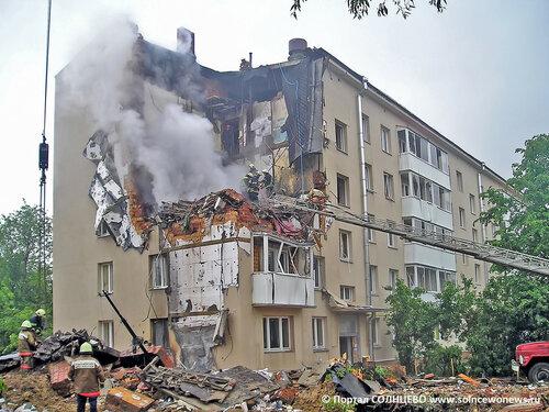 Внуково. Взрыв газа в жилом доме. Июнь 2006