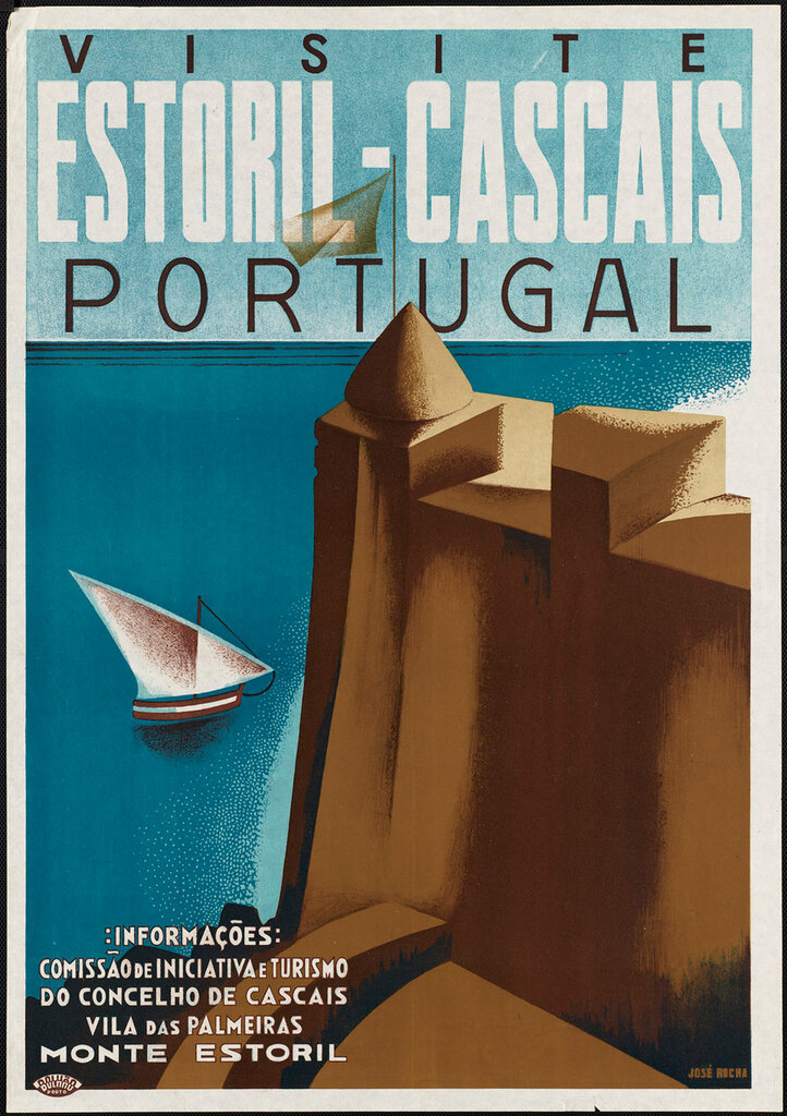 Travel posters Portugal 1910-1959