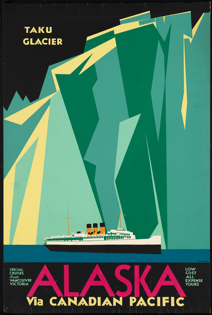 Travel posters Canadian Pacific 1910-1959