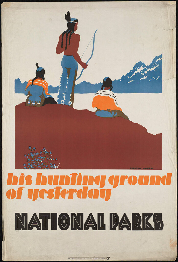 Travel posters by Waugh, Dorothy 1930-1940
