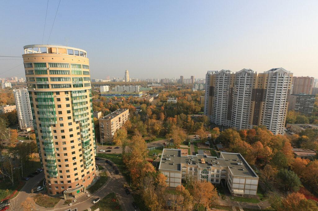 Москва, жилой дом на