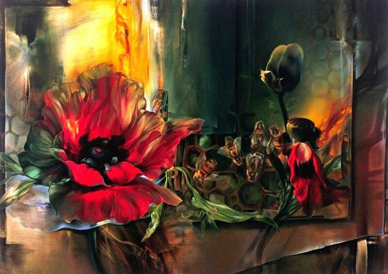 Мир цветов от художника Vie Dunn-Harr