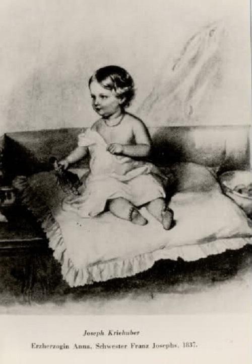 Эрцгерцогиня Мария Анна Австрийская.