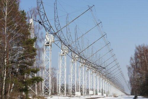 Радиотелескоп ДКР-1000 в Пущино