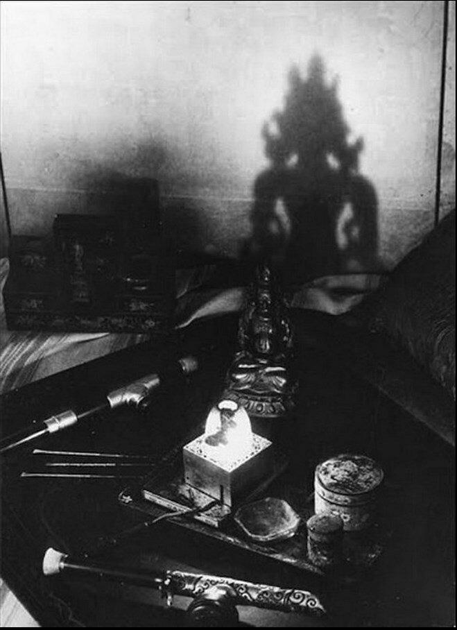 1931. В притоне курильщиков опиума.