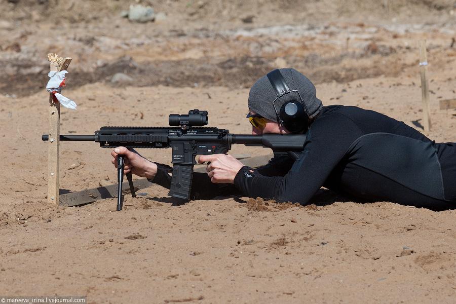 Первый этап Кубка России по практической стрельбе из карабина, Санкт-Петербург, 28-29 апреля 2012 г. III уровень...