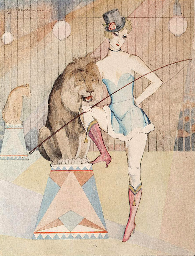 La Baronne Vintage1926. Jeanne Mammen (1890-1976)