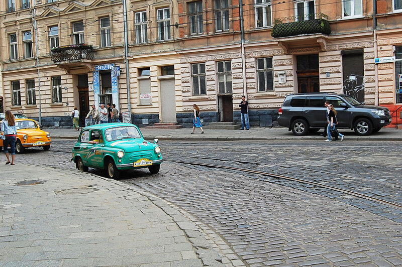 """Авто гонки на """"Горбатых"""""""