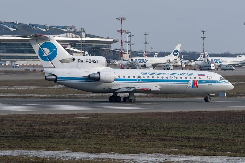Яковлев Як-42Д (RA-42421) Авиационные Линии Кубани DSC_9801