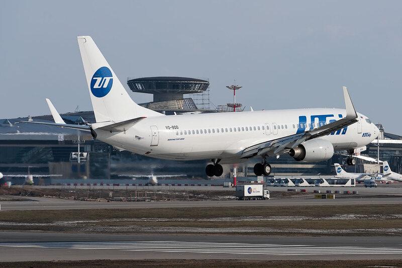 Boeing 737-8GU (VQ-BQQ) ЮТэйр DSC_9738