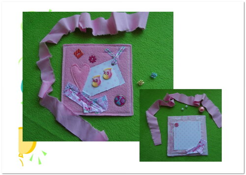Детский скрапбукинг... открытки ручной работы